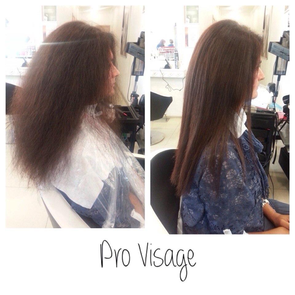 как кератиновое выпрямление влияет на волосы